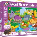 Puzzle Podea: Alfabetul animalutelor (30 piese)