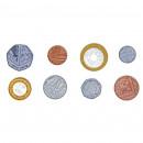 Set cu 700 monede de jucarie (lire)