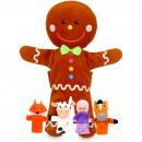 Set Marionete Omul de turta dulce Fiesta Crafts FCT-2734