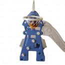 Tobogan MyKids Lighthouse cu cos de baschet Blue