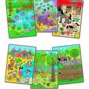 Water Magic: Carte de colorat Who's Hiding?