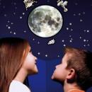 Abtibilduri 3D reflectorizante - Luna