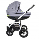 Carucior copii 3 in 1 MyKids Baby Boat - Bb/223 Gray-Green