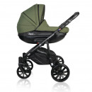 Carucior copii 3 in 1 MyKids Basic Soft Green Gel