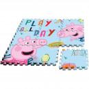 Covor puzzle Peppa Pig 9 piese SunCity EWA17004PP