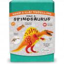 Kit constructie lemn si argila - Spinosaurus Fiesta Crafts FCT-2958