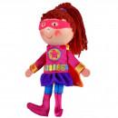 Marioneta pentru deget Fata Supererou Fiesta Crafts FCG-1052