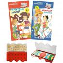 Set joc educativ LUK, varsta 7 ani, Matematica si limba romana Editura Kreativ EK6153
