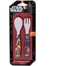 Set lingurita si furculita melamina Star Wars Lulabi 8340250
