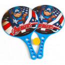 Set Palete cu Minge Captain America Seven SV9813