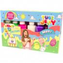 Set Tubi Jelly cu 6 culori - Paste Tuban TU3325