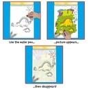 Water Magic: Carte de colorat Dinozauri