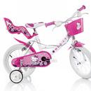 Bicicleta copii 14'' Hello Kitty