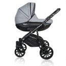 Carucior copii 3 in 1 MyKids Basic Soft Grey Gel