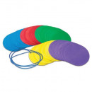 Discuri colorate - Distantare sociala