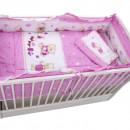Lenjerie MyKids Teddy Toys Roz M2 4+1 Piese 140x70
