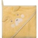 Prosop de baie cu gluga imprimeu animal 100 x 100 cm Womar Zaffiro AN-OZ-02