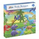Puzzle cu dinozauri (96 piese)