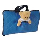 Sac de dormit pentru calatorii cu ursulet de plus inclus Tuloko TL004