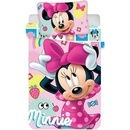 Set lenjerie pat copii Minnie 100x135 + 40x60 SunCity JFK019429