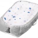Baby Nest Klups Klups Velvet Gri V102