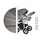 Carucior 3 in 1 Baby Merc Zippy Q - ZQ132C - Cadru Alb