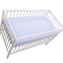 Cearceaf cu elastic MyKids Blue 120x60