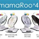 Fotoliu Balansoar Bebelusi 4MOMS MamaRoo 4.0 Plush Multicolor