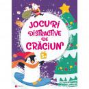 Jocuri distractive de Craciun 5 ani Editura Kreativ EK8664
