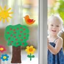 Plastilina decorativa pentru geam - MAXI