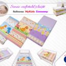 Saltea Fibra Cocos MyKids Economy I Color Diverse Modele 120x60x08 (cm)