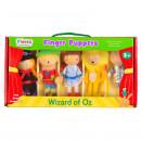 Set 5 Marionete pentru deget Vrajitorul din Oz Fiesta Crafts FCT-2379