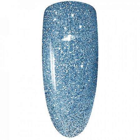 Oja Semipermanenta Disco Aurora Secret 15ml, Culoare Albastru, No. 12, Cantitate 15ml