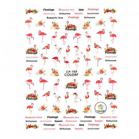 Abtibilde Unghii Model CA168 Flamingo Lollipop