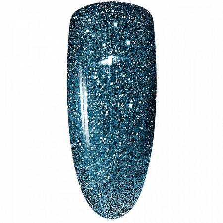 Oja Semipermanenta Disco Aurora Secret 15ml, Culoare Albastru, No. 13, Cantitate 15ml