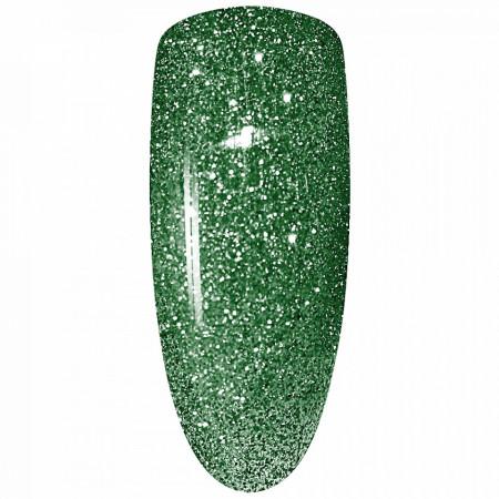 Oja Semipermanenta Disco Aurora Secret 15ml, Culoare Verde, No. 18, Cantitate 15ml