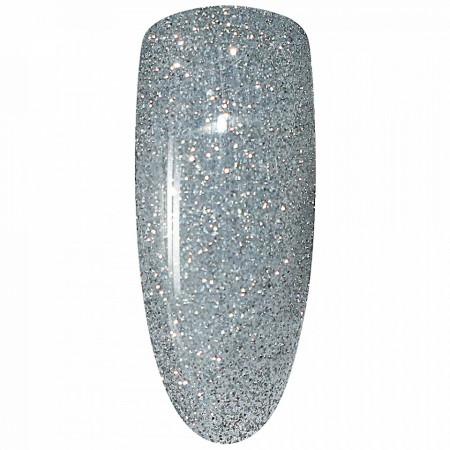 Oja Semipermanenta Disco Aurora Secret 15ml, Culoare Gri, No. 19, Cantitate 15ml