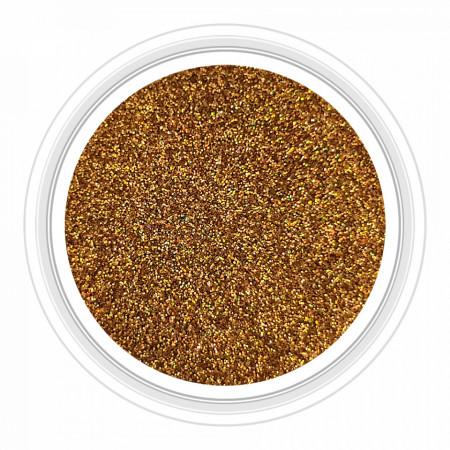 Sclipici Unghii Gold Multicolored Reflections No 53