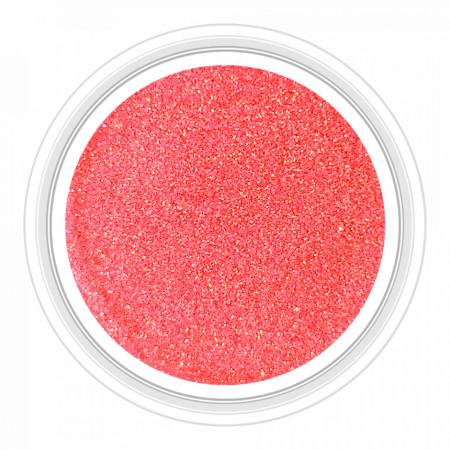 Sclipici Unghii cu Efect de Sirena Coral Pink No 2