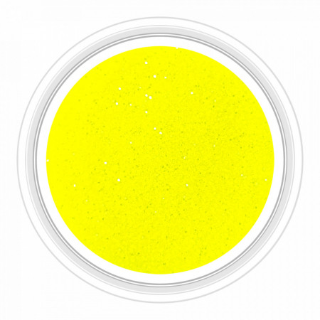 Sclipici Unghii Neon Electric Yellow No 01