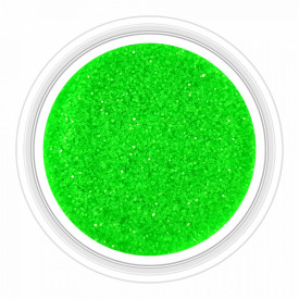 Sclipici Unghii Neon Glowing Green No 03