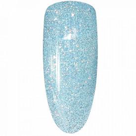 Oja Semipermanenta Disco Aurora Secret 15ml, Culoare Albastru, No. 04, Cantitate 15ml
