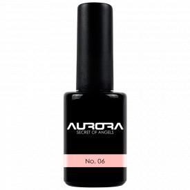 Oja Semipermanenta Aurora Culoare Roz No 06 Cantitate 11ml