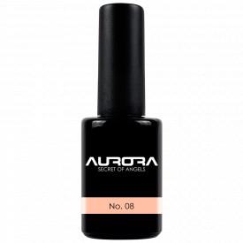 Oja Semipermanenta Aurora Culoare Roz Piersica No 08 Cantitate 11ml