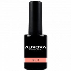Oja Semipermanenta Aurora Culoare Roz Coral No 11 Cantitate 11ml
