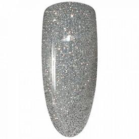 Oja Semipermanenta Disco Aurora Secret 15ml, Culoare Argintiu, No. 01, Cantitate 15ml