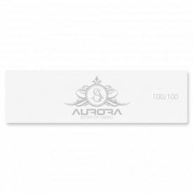 Buffer Unghii cu 4 Fete Granulatie 100/100 Aurora Secret