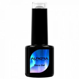 Oja Semipermanenta Disco Aurora Secret 15ml, Culoare Argintiu, No. 02, Cantitate 15ml
