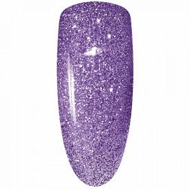 Oja Semipermanenta Disco Aurora Secret 15ml, Culoare Mov, No. 11, Cantitate 15ml