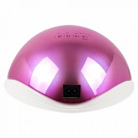 Lampa LED/UV cu Aprindere Automata la Senzor 48Watt Aurora Pink